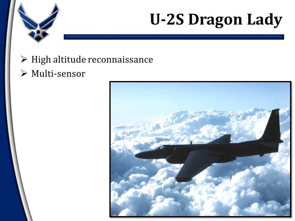  High altitude reconnaissance  Multi-sensor U-2S Dragon Lady