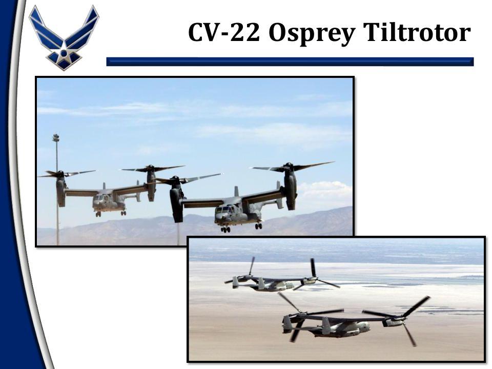 CV-22 Osprey Tiltrotor