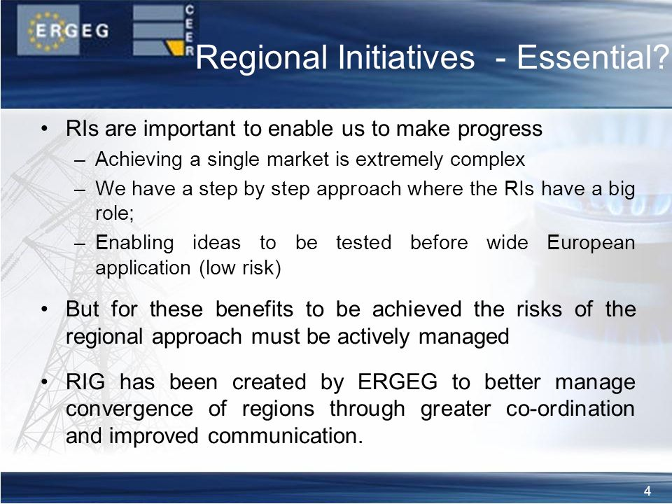 4 Regional Initiatives - Essential.