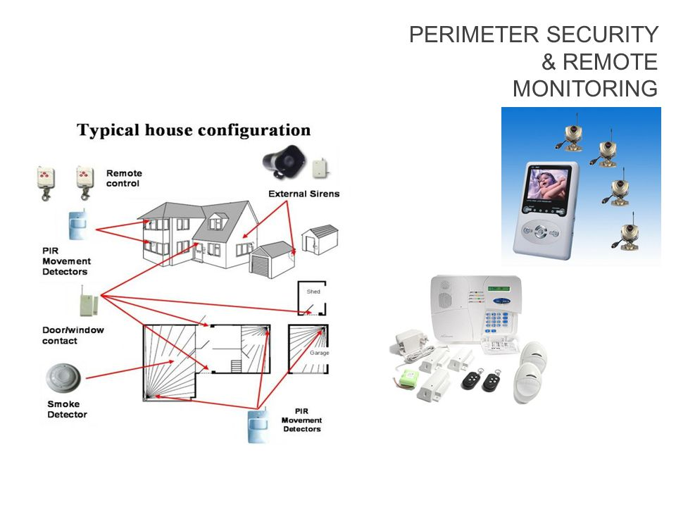 PERIMETER SECURITY & REMOTE MONITORING