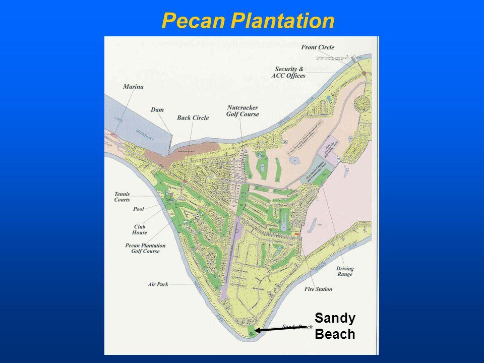 Population Pecan Plantation Sandy Beach