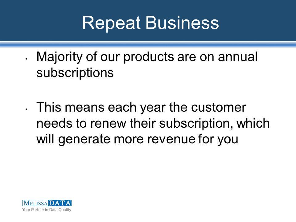 Reseller Discounts Sales Per Quarter $2,000 $5,000 $10,000 $15,000 Your Discount 35% 40% 45% 50%