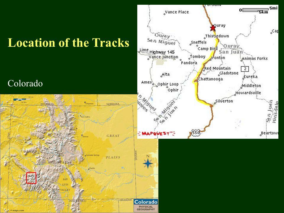 Colorado Location of the Tracks