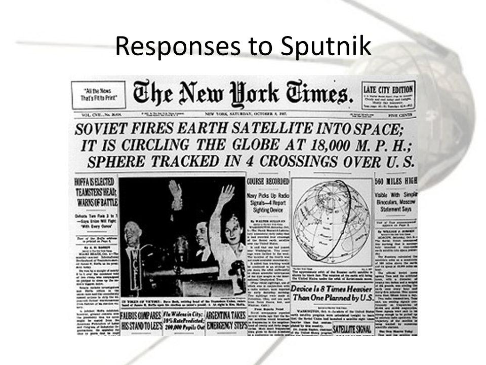 Responses to Sputnik