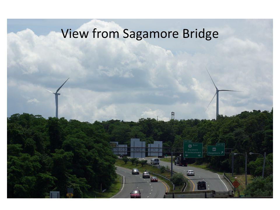 View from Sagamore Bridge