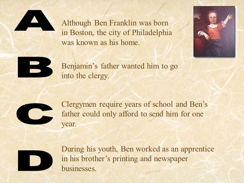 Even though Ben had kept the newspaper going while his brother was in prison, his brother harassed and beat him when he was released.