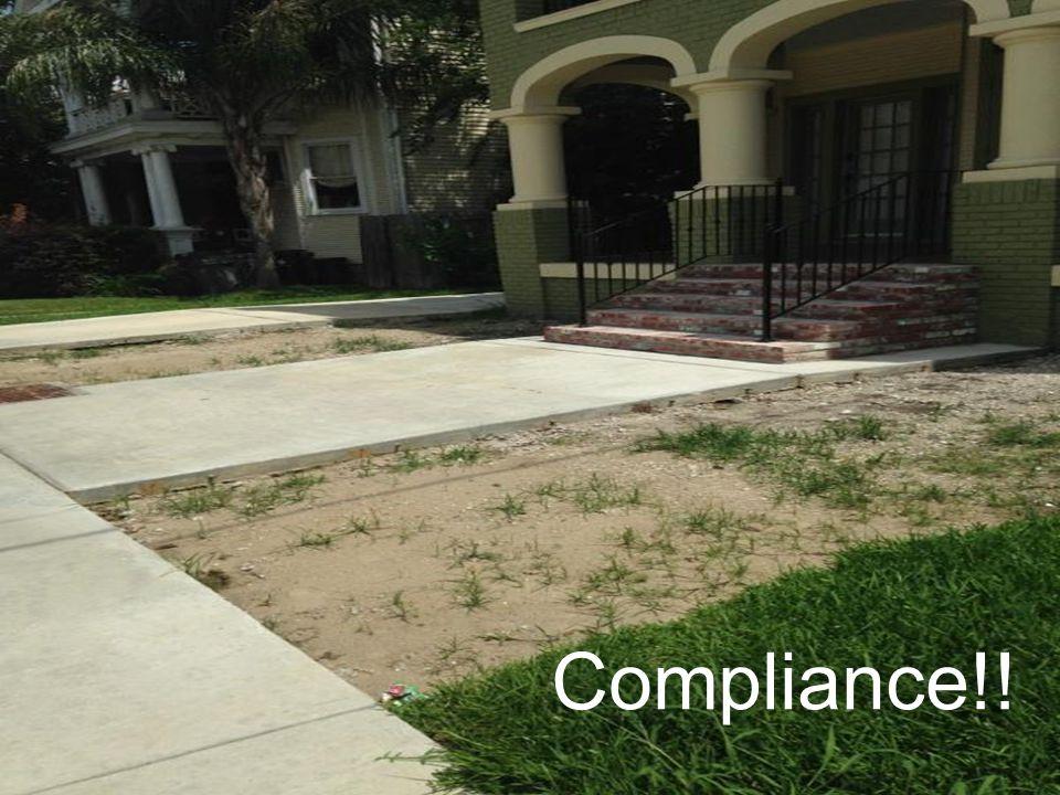Compliance!!