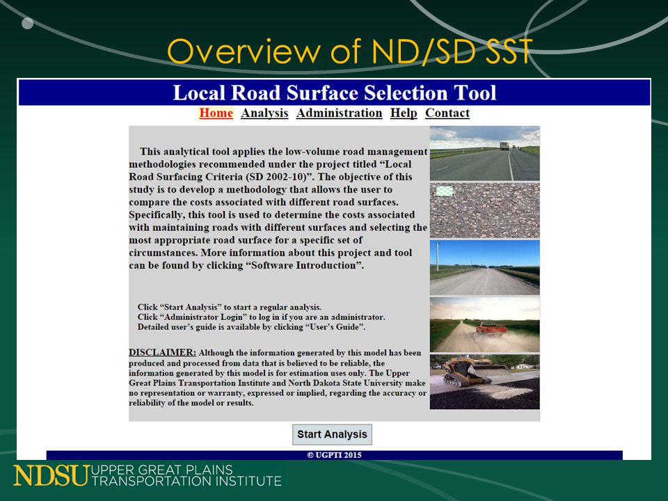 Overview of ND/SD SST