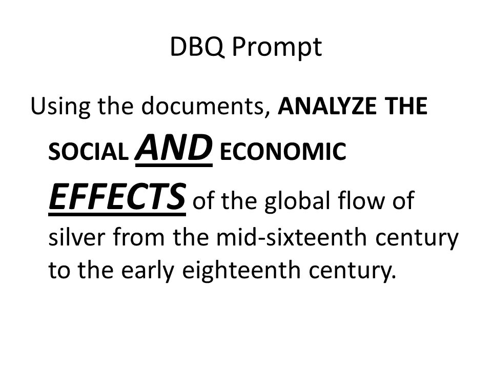 Additional Documents You MUST ALSO explain: – How this would help you to answer the question – How this additional point of view would provide further insight into the understanding of the historical subject related to the essay prompt