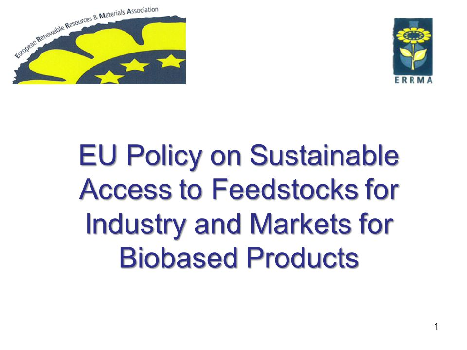 Horizon 2020 Bioeconomy and Public Procurement Tomasz Calikowski European Commission Directorate-General Research & Innovation Directorate for Bioeconomy Unit F2 Bio-based products and processing Bio-based & Renewable Industries for Development and Growth in Europe - Stakeholder Event Madrid, 2 April 2013 RRM meeting Brussels, 2 April 2014