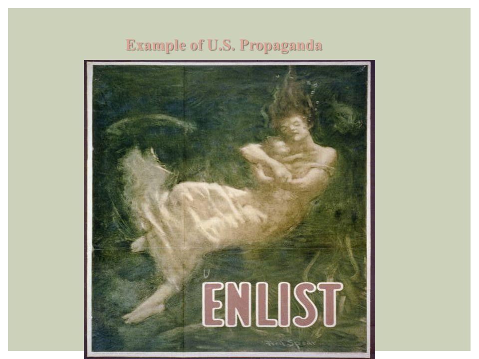 Example of U.S. Propaganda