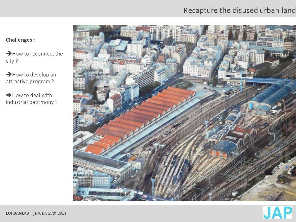 EURBANLAB – january 29th 2014 Urban Landscape