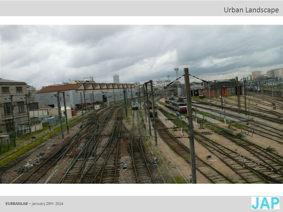 EURBANLAB – january 29th 2014 Valuable heritage ?