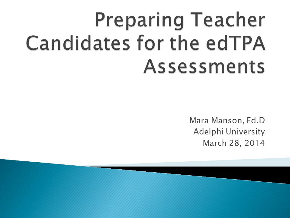  Review teacher candidates scores for each of the three edTPA tasks  Look for patterns of high and low scores within each rubric  Review the curriculum mapping  Identify courses that are linked with specific content  Modify course content to better meet the needs for supporting students throughout their course of study  In a perfect world….teacher candidates will be educated and prepared for the edTPA.