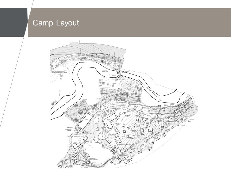 Problem Statement Erosion and Soil Loss from Several Problem Areas >Hillslopes >Entry Road and Camp Roads >Highway Shoulder >Camp Visitor Parking >Volunteer Trails >Heavy Use Area Erosion Problems are Common to Camps, Cabin Tracts, urban areas, and Campgrounds in the Sierras