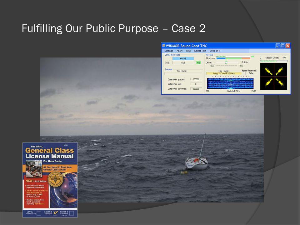 Fulfilling Our Public Purpose – Case 2