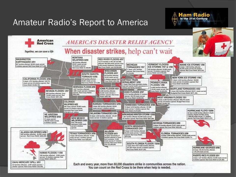 Amateur Radio's Report to America