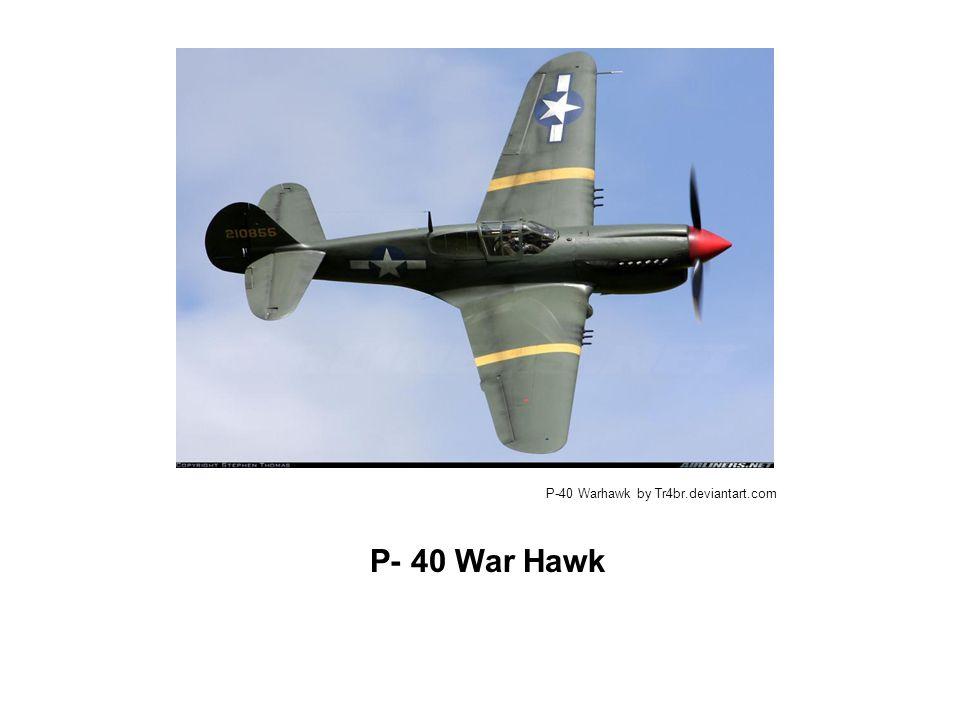 P- 40 War Hawk P-40 Warhawk by Tr4br.deviantart.com