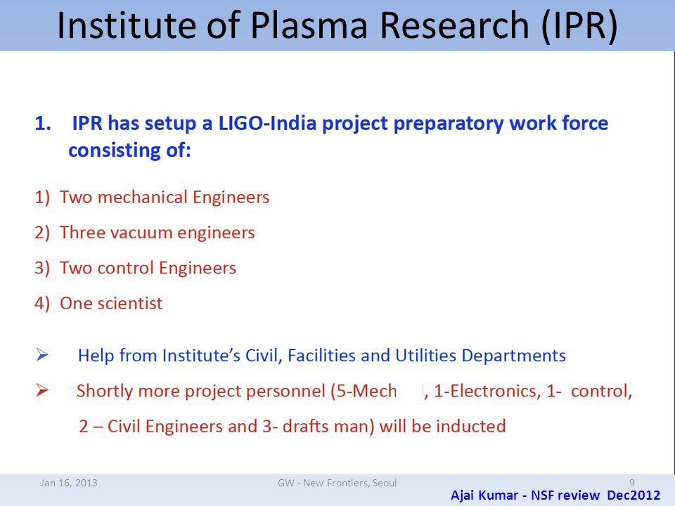 LIGO-India Site drawings (supplied to state officials) Jan 16, 201330GW - New Frontiers, Seoul