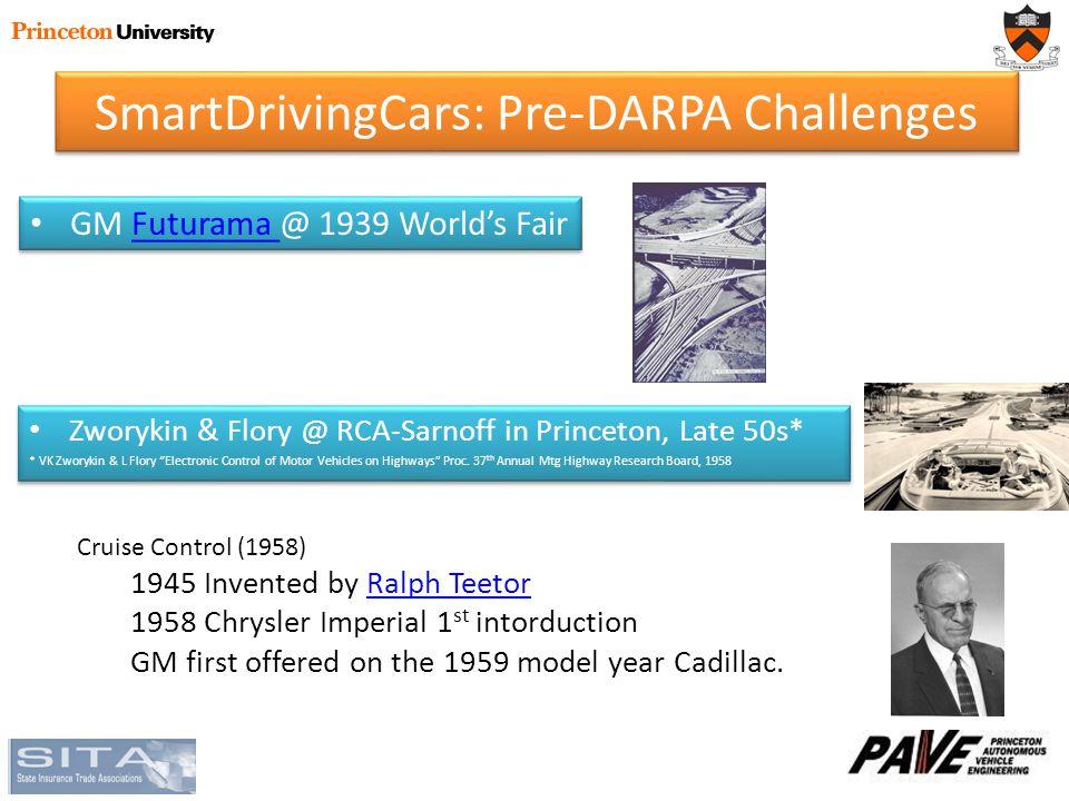 GM Futurama @ 1939 World's FairFuturama GM Futurama @ 1939 World's FairFuturama Zworykin & Flory @ RCA-Sarnoff in Princeton, Late 50s* * VK Zworykin & L Flory Electronic Control of Motor Vehicles on Highways Proc.