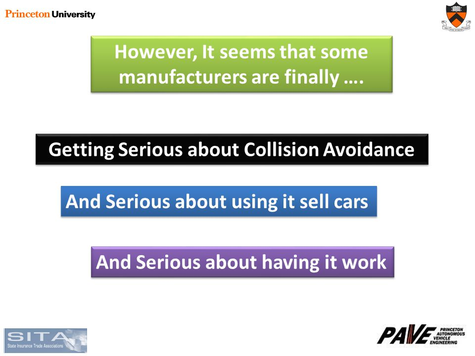 However, It seems that some manufacturers are finally ….
