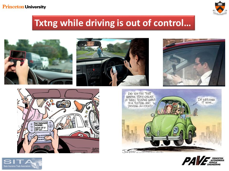 Txtng while driving is out of control…
