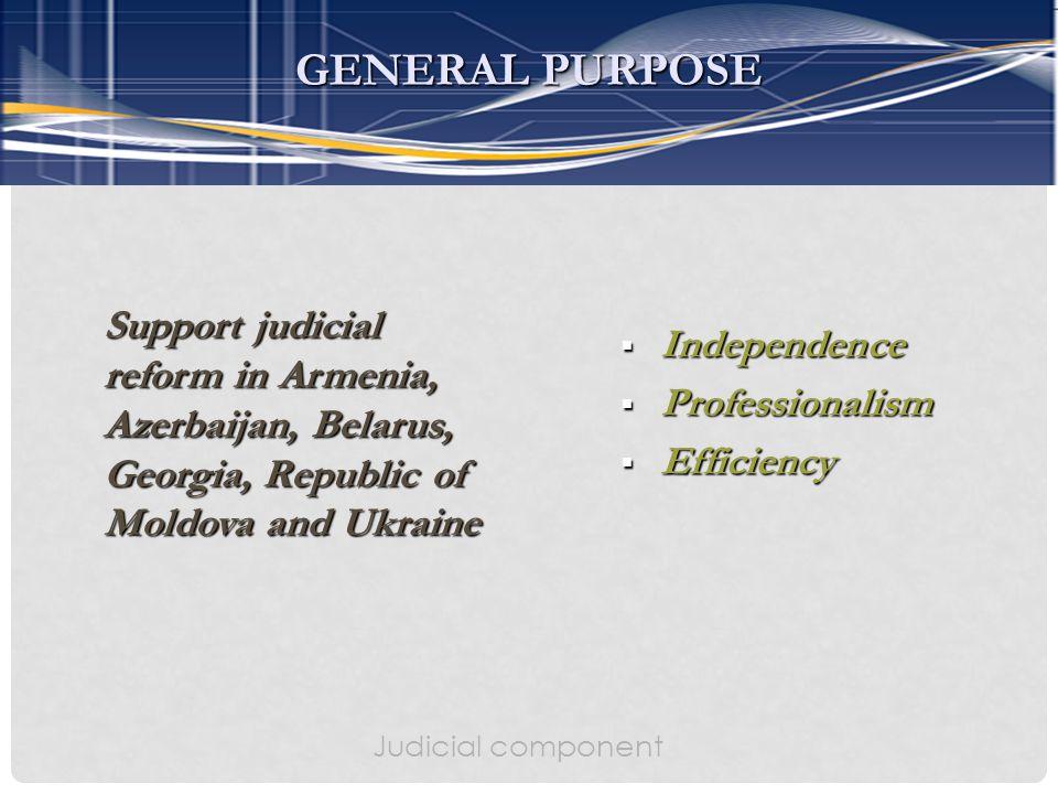 Support judicial reform in Armenia, Azerbaijan, Belarus, Georgia, Republic of Moldova and Ukraine Support judicial reform in Armenia, Azerbaijan, Bela