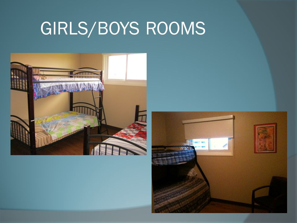 GIRLS/BOYS ROOMS