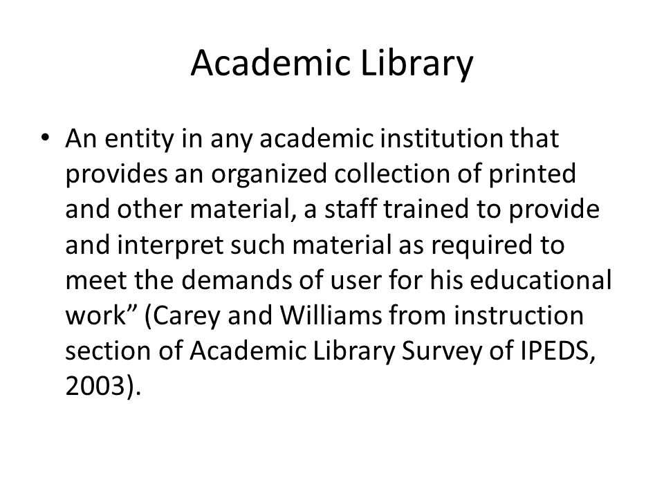 Library services may be provided nonstop 24/7 as a step towards TQM culture.
