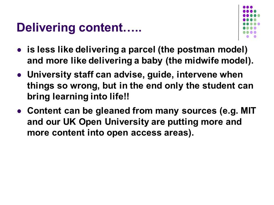 Delivering content…..