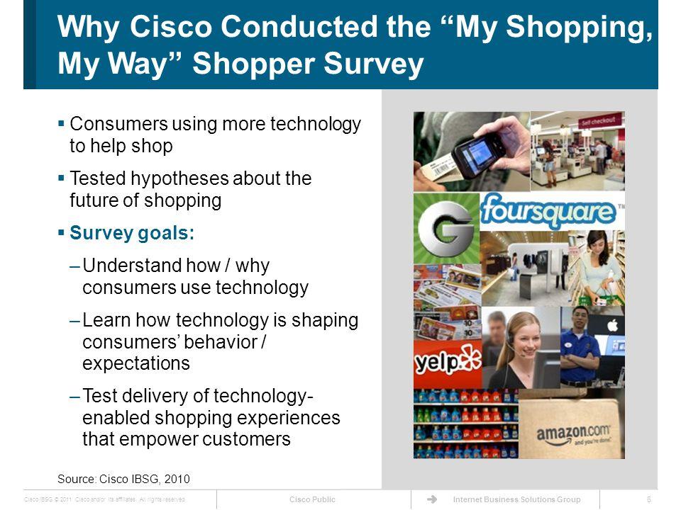 Cisco Public Cisco IBSG © 2011 Cisco and/or its affiliates.