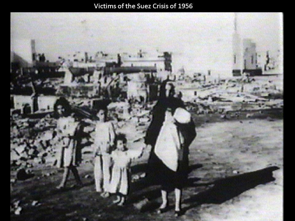 Victims of the Suez Crisis of 1956