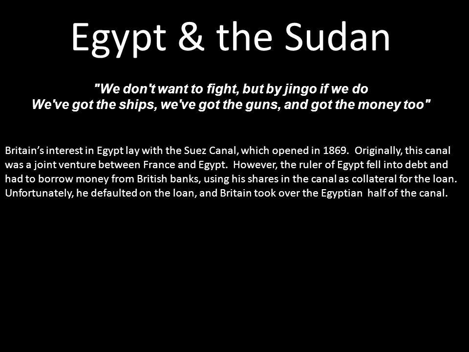 Egypt & the Sudan