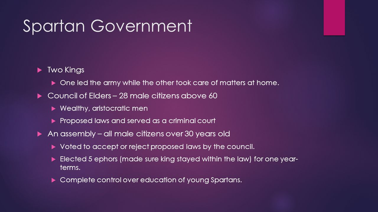 Athenian Government  Monarchy > Aristocratic gov't  Draco (an archon) wrote down the 1 st written law code in the 600's B.C.