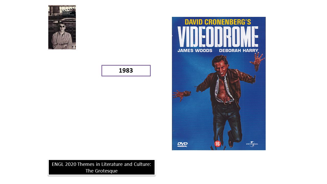 ENGL 2020 Themes in Literature and Culture: The Grotesque 1983