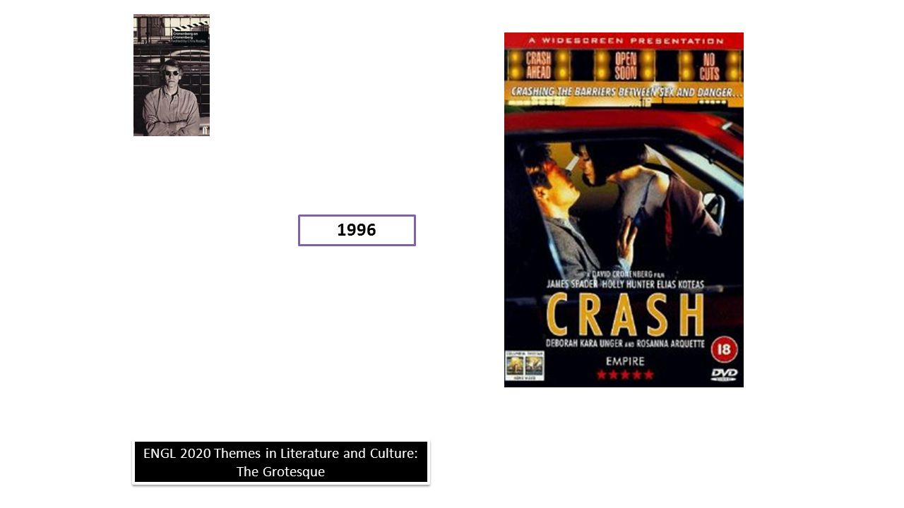 ENGL 2020 Themes in Literature and Culture: The Grotesque 1996