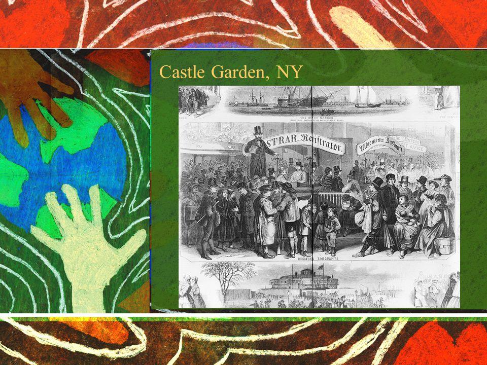 Castle Garden, NY