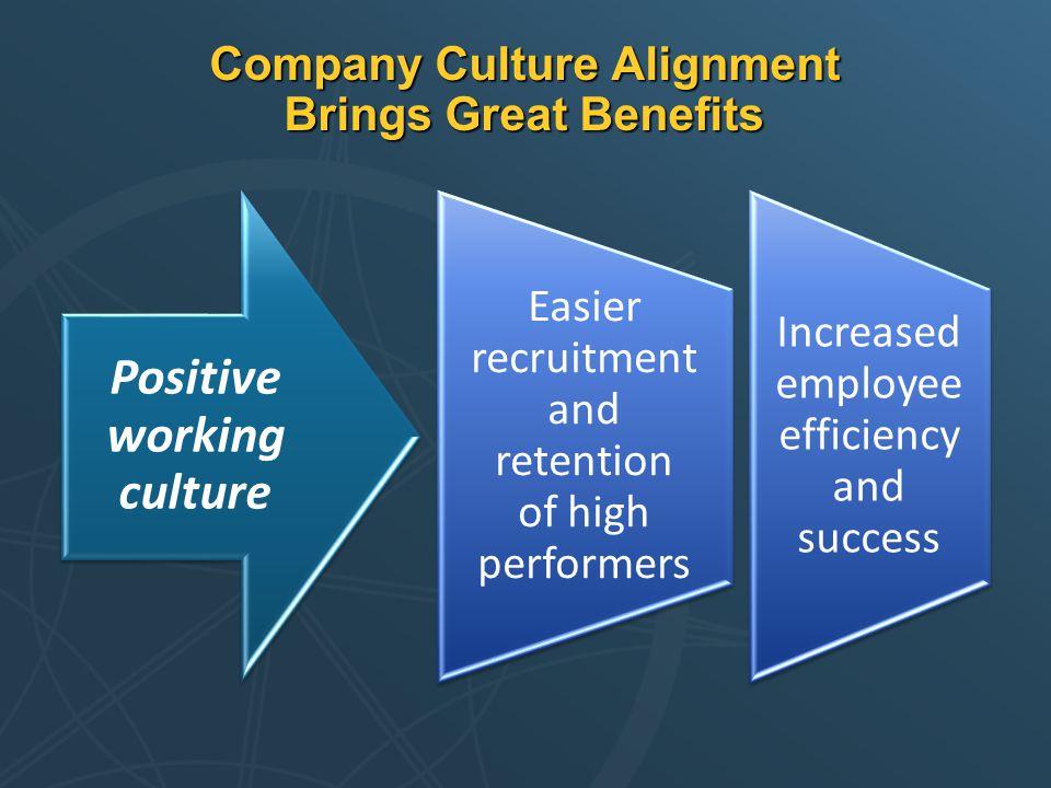 Company Culture Alignment Brings Great Benefits