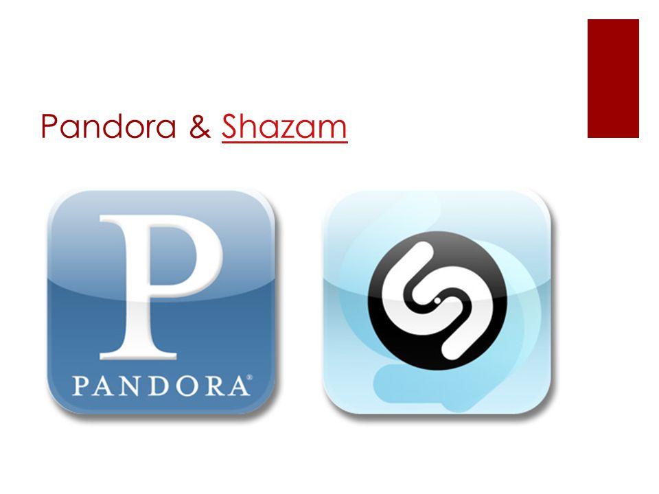 Pandora & ShazamShazam