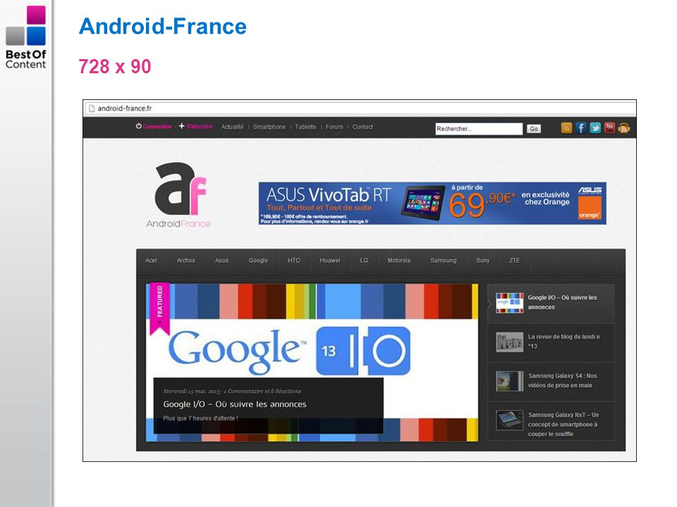 Android-France 728 x 90