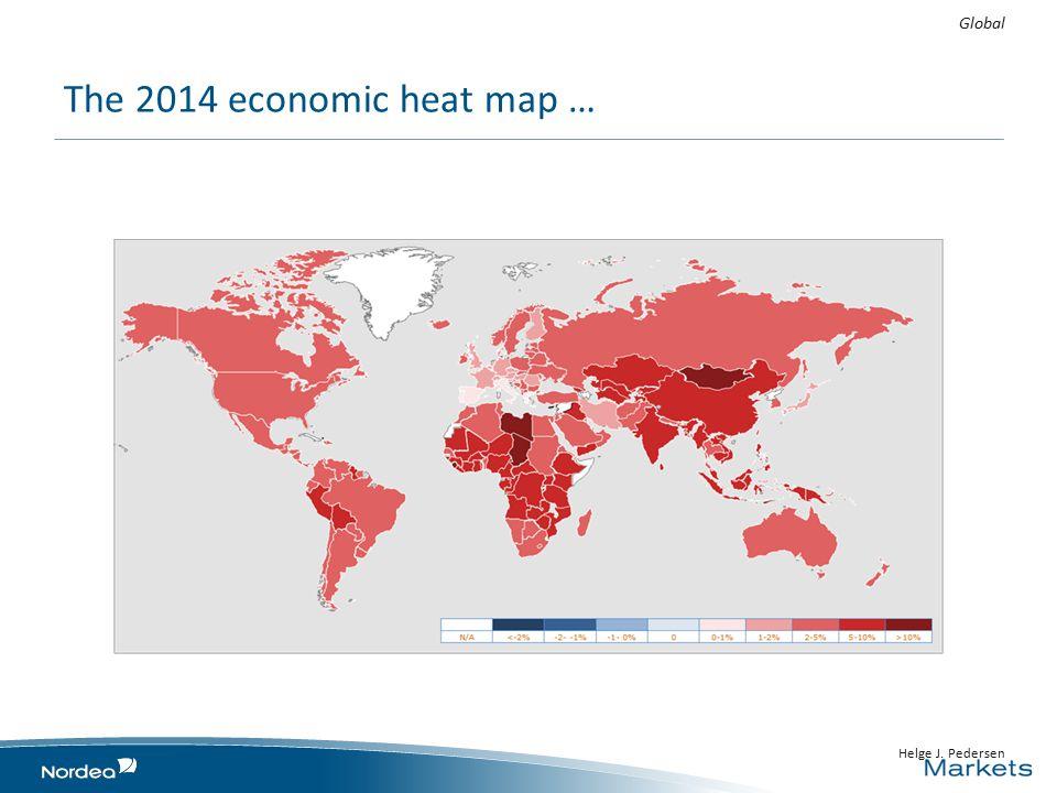 The 2014 economic heat map … Global Helge J. Pedersen