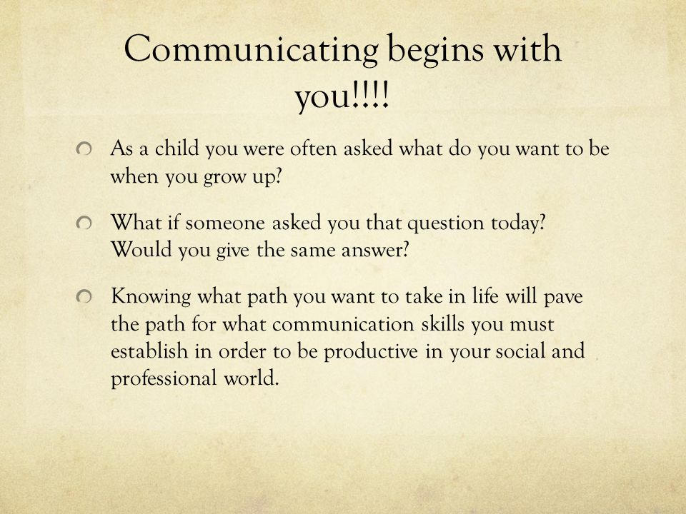 Intrapersonal communication When you think of communication what do you think of.