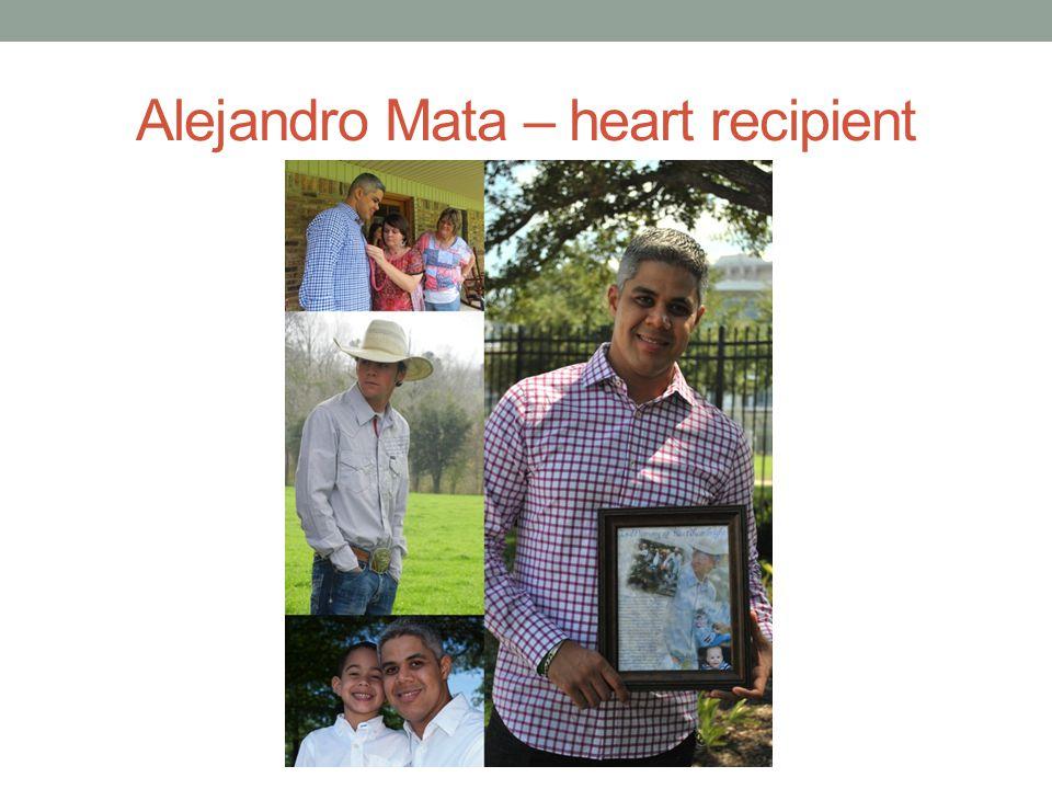 Alejandro Mata – heart recipient
