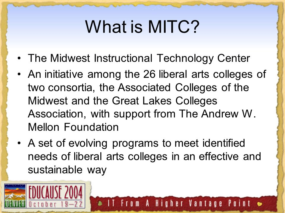 What is MITC.