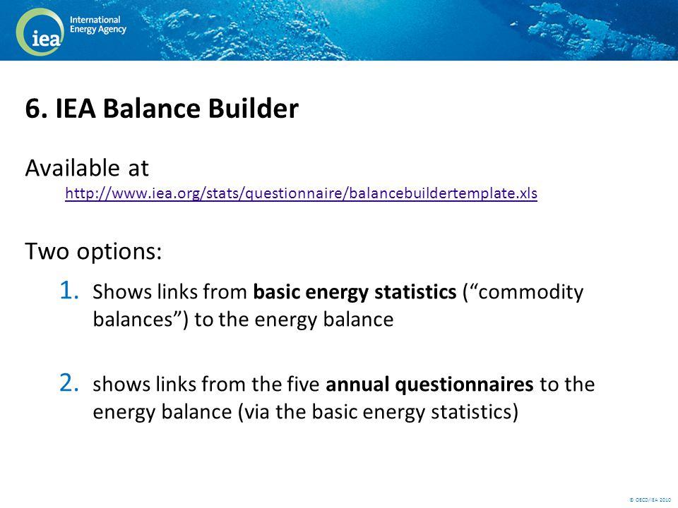 © OECD/IEA 2010 6.