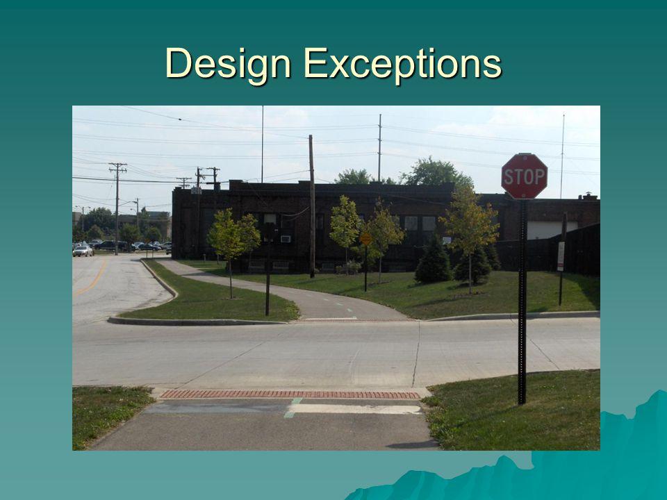 Design Exceptions