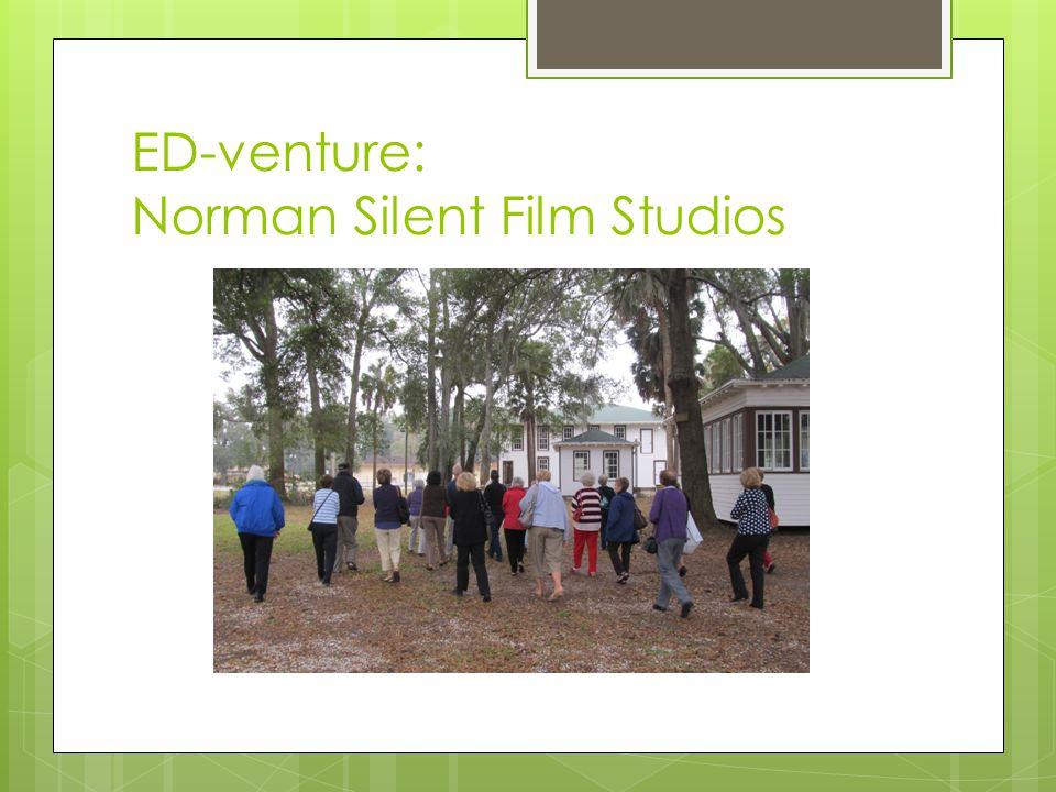 ED-venture: Norman Silent Film Studios