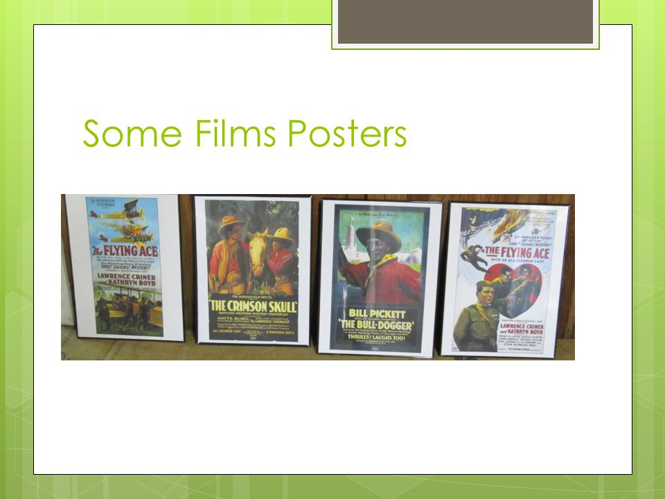 Some Films Posters