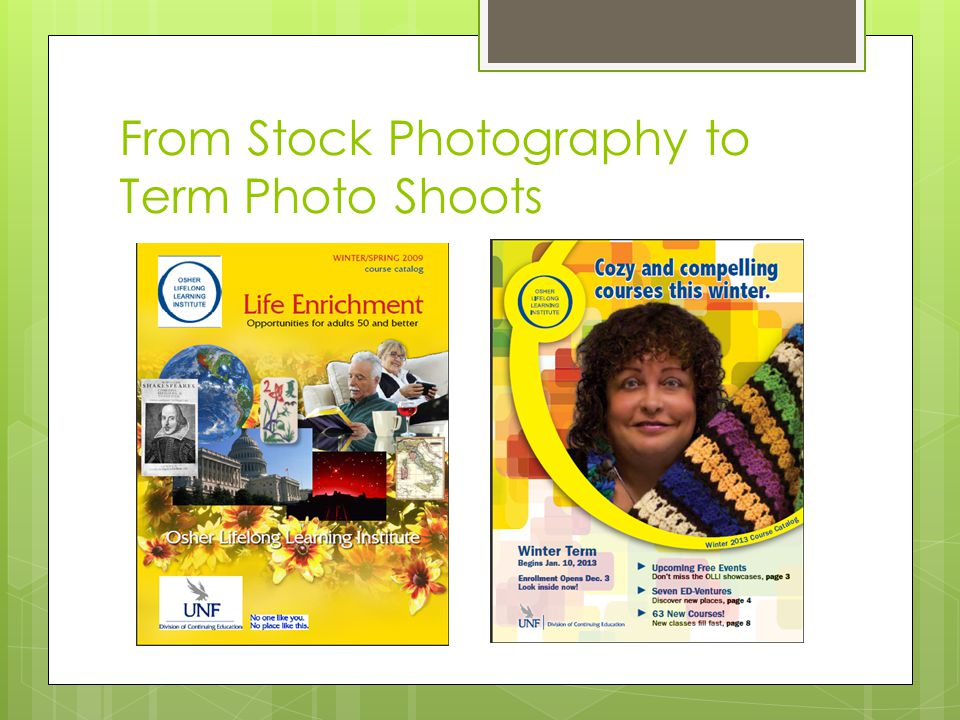 From Stock Photography to Term Photo Shoots