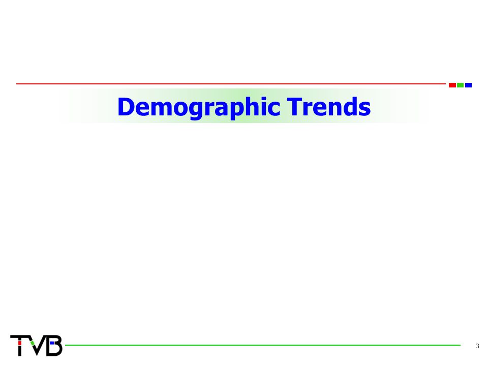 Demographic Trends 3